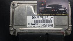 Módulo de Injeção  Fox Gol 1.6 8V Flex ME7.5.30-032 906 032 BE- 0 261 S04 281