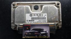 Módulo de Injeção Gol G5 1.6 8V Flex ME7.5.30 -  032 906 032 AJ - 0 261 201 384