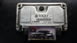 Módulo de Injeção Polo 1.6 8V Flex  - ME7.5.30 -  032 906 032 BF - 0 261 S04 283