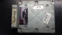 Módulo de Injeção  Fiesta 1.0 8V- ANIL - XS6F-12A650-AC