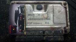 módulo de injeção astra zafira 2.0 8v - 0 261 208 089 -93399912 -R6