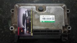 Módulo De Injeção Peugeot 206 1.6 8v- 0 261 206 334-96 368 404 80- Mp7.2
