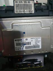 Módulo de Injeção + bsi  Peugeot 307- ME7.4.9 - 0 261 201 213