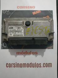 Módulo de Injeção Fiesta 1.6 Flex  IAW 4CFR.GR - BFH1 - 7S6512A650FB