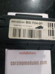 módulo bsi citroen c3 - 9661633380 - BSI F04-00