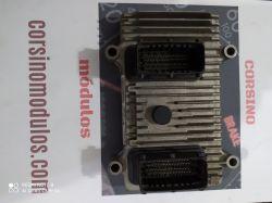 módulo de injeção punto 1.6 16v - IAW 7GF.YI/HW400 - 55251854