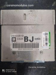 Módulo de Injeção-Corsa 1.0 8V-09355819- CSUK BJ