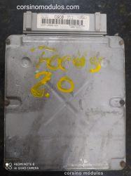 Módulo de Injeção ford Focus 16V-2S4A-12A650-ACA-CGC0