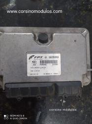 Módulo de Injeção Palio Siena 1.4 8V Flex -IAW 4DF.FW-55220203