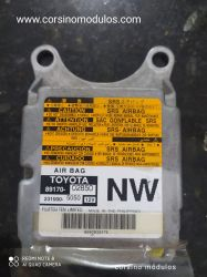 módulo airbag toyota-89170-02850-231000-5050-NW