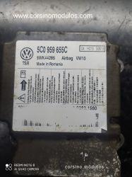 módulo airbag vw jetta - 5C0 959 655C - 5WK44285