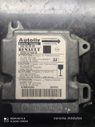 módulo airbag renault scenic - 550 56 90 00 - 8200101441A