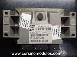 Módulo de Injeção Citroen C4 Picasso Peugeot 307 2.0 -  IAW 6LP1.20