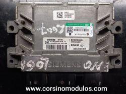 Módulo de Injeção  Clio Logan 1.0 16V Flex- SIM32- S120204104 A- 8200788464