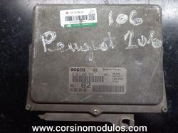 Módulo de Injeção Peugeot 106 1.0 8V-0 261 206 280-96 362 464 80-MA3.1