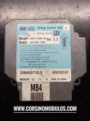 módulo de Air Bag Hyundai Tucson -95910-2E310 - 30B450710L9 - 45070101